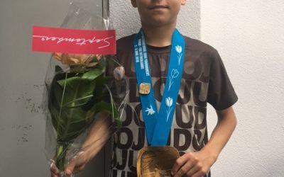 Senn van Buel pakt goud op Internationaal judotoernooi Venray