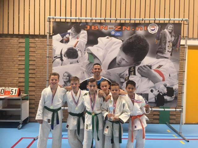 2 keer goud tijdens Districtskampioenschap judo