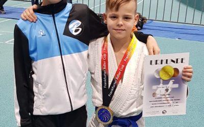 Judoka Senn van Buel pakt goud in Frankfurt!