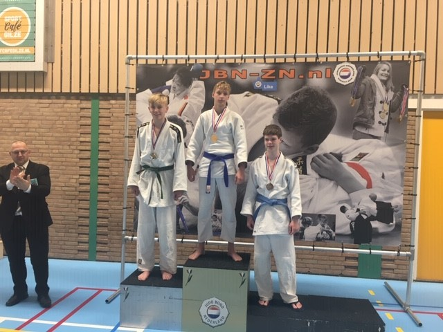 6 judoka's gekwalificeerd voor NK judo