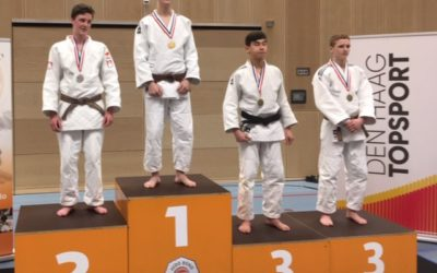 Laurens Wilms Nederlands Kampioen Judo