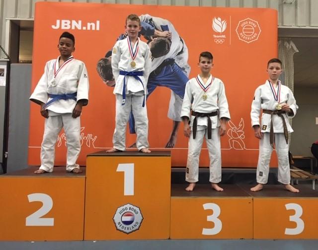 NK judo Brons voor Jesse van Buel