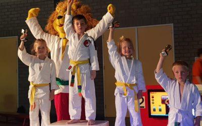 Judoka's Van Buel Sports succesvol tijdens Berlicum Open!