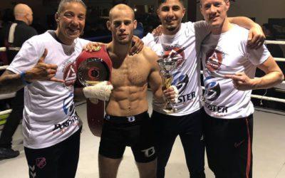 Europese titel MMA voor Daan Duijs