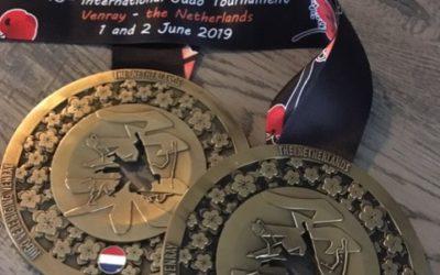 4 keer Internationaal Judo Goud in Venray