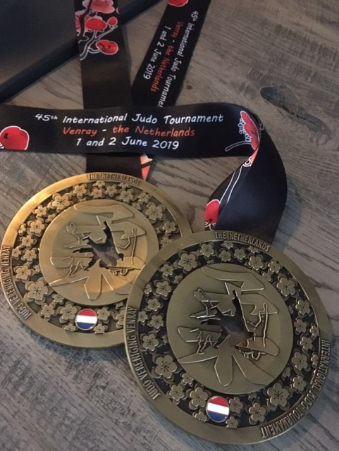 4 keer Internationaal Judo Goud in Venray
