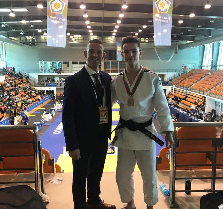 Judo Brons in in Europa en 4 kwalificaties voor NK