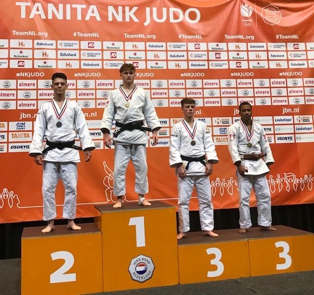 Judoka Laurens Wilms pakt zilver tijdens NK!