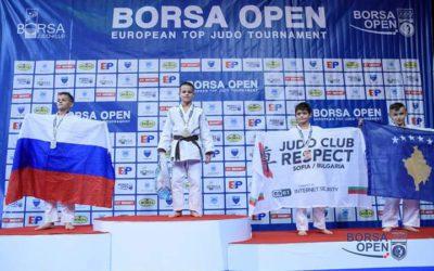 Judoka Senn van Buel wint in Bosnië