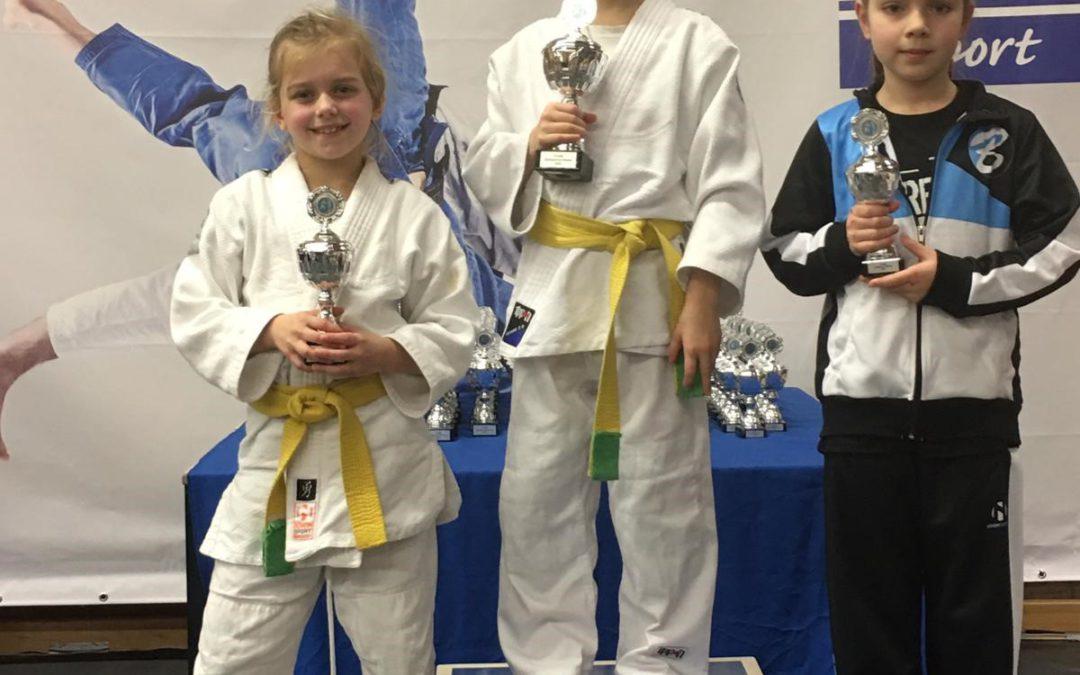Vijf keer judo Goud in Gemert
