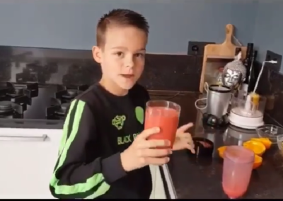 Fruit smoothie van Senn