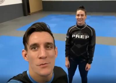 Duo workout Lizzy en Duane